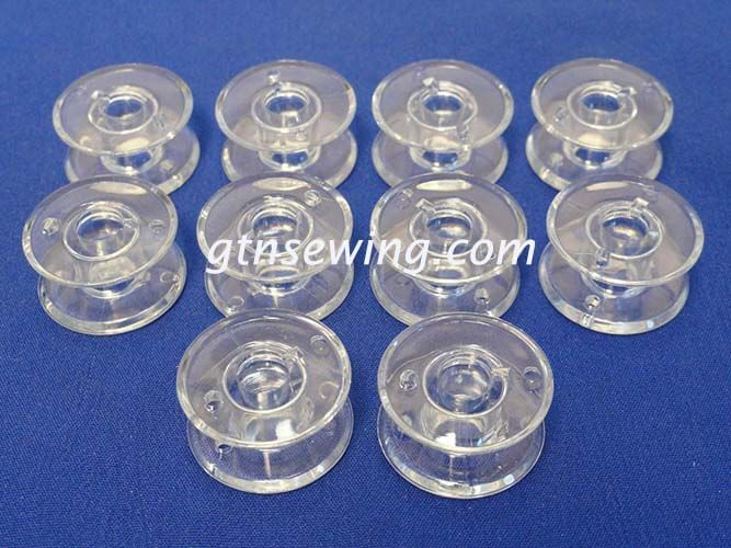 10 SEWING MACHINE BOBBINS WILL FIT BROTHER MACHINES, SIZE 20.5 mm x 11.5 mm