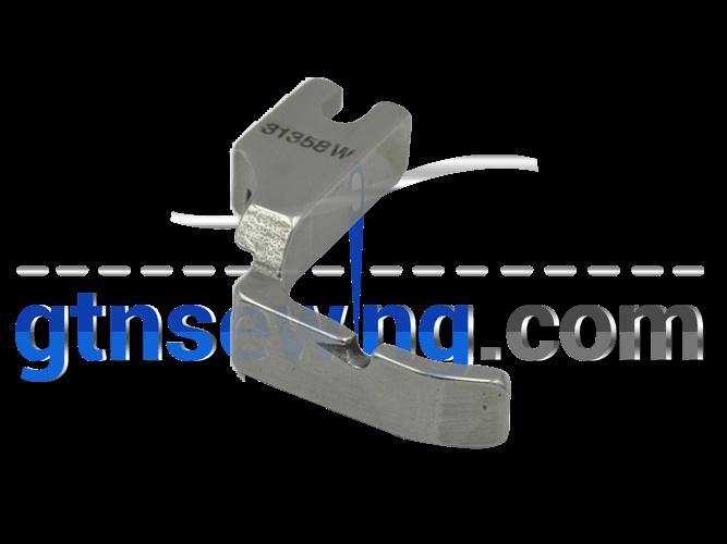 NDUSTRIAL SEWING MACHINE ZIP, ZIPPER FOOT WIDE LEFT SOLID