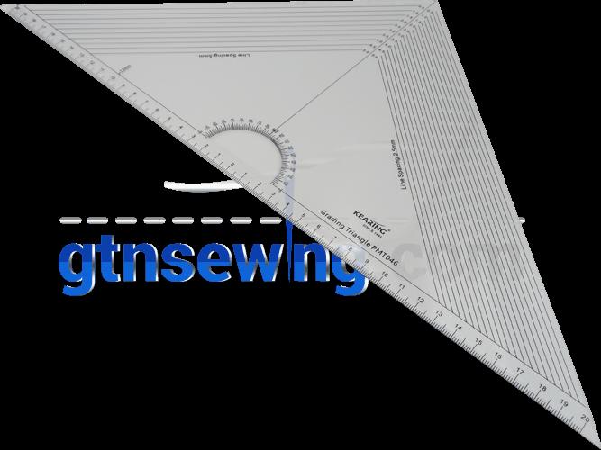 Metric Large Graders Set Square Ruler