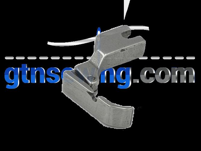 Industrial Sewing Machine Hinged Zip Foot Left wide