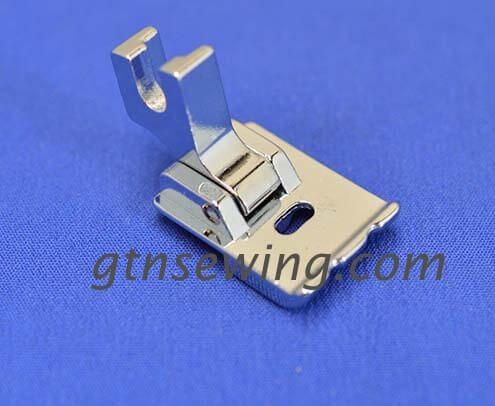 PIPING FOOT DOUBLE GROOVE SCREW ON