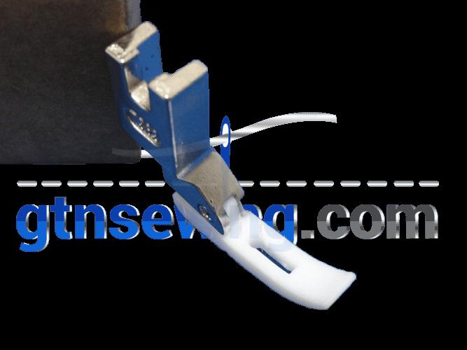 Industrial Sewing Machine Teflon Foot ZIP Double