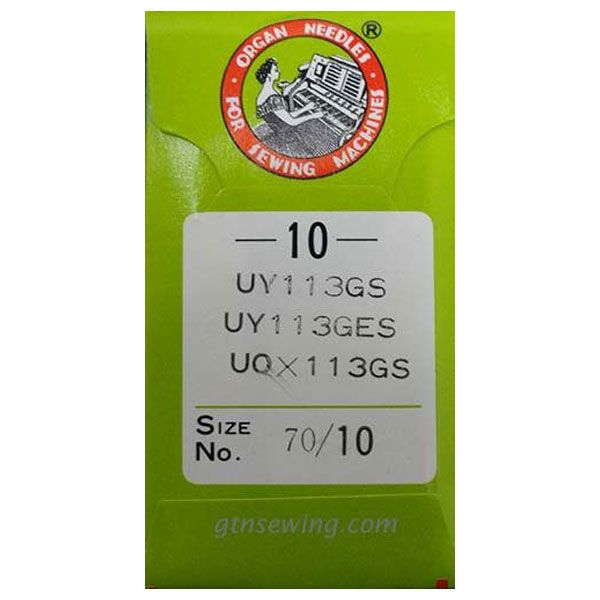 Waste Band Elastic Sewing Machine Needles Class UY113GS Size 70/10