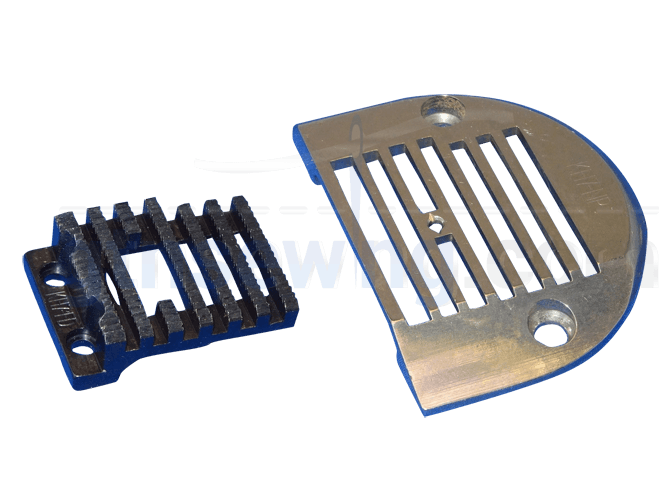 EXTRA WIDE FEED & NEEDLE PLATE